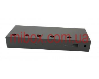 Шасси для гитарного усилителя на 18 Вт, модель MB-18GA (Ш432 Г165 В64) черный, RAL9005(Black textured)