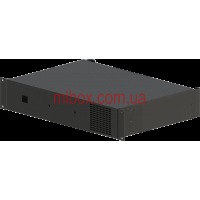 Корпус для усилителя мощности звука, модель MB-2300v1 (Ш483(432) Г325(300) В88) черный, RAL9005(Black textured)
