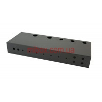 Шасси для гитарного усилителя на 50 Вт, модель MB-50ACU-W432H64L165, RAL9005(Black textured)
