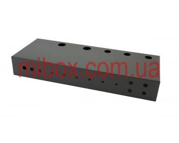 Шасси для гитарного усилителя на 50 Вт, модель MB-50GA (Ш432 Г165 В64) черный, RAL9005(Black textured)