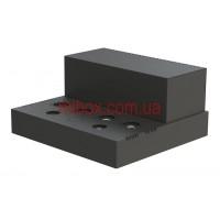 Шасси лампового усилителя звука, модель 7x_UNIVERSAL v.06.03.2021 (Ш364 Г334 В176(66)) черный, RAL9005(Black textured)