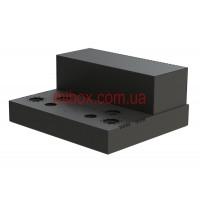 Шасси лампового усилителя звука, модель 9x_UNIVERSAL v.06.03.2021 (Ш400 Г344 В176(66)) черный, RAL9005(Black textured)
