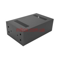Корпус для фонокорректора Василича, модель MB-FK1ACU-W184H103L301, RAL9005(Black textured)