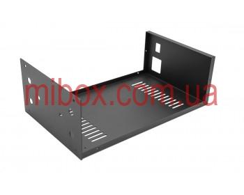 Корпус для фонокорректора Василича, модель MB-FK1 (Ш184 Г301 В103) черный, RAL9005(Black textured)