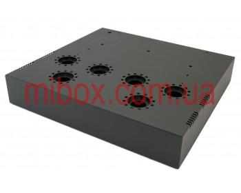 Шасси лампового усилителя звука, модель MB-6p41c (Ш364 Г334 В176(66)) черный, RAL9005(Black textured)