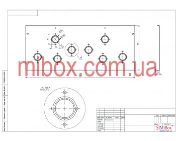Шасси лампового усилителя звука, модель MB-6p3c(S) (Ш400 Г344 В176(66)) черный, RAL9005(Black textured)
