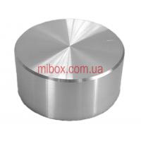 Ручка для переменного резистора R-10 серебряная (D = 26мм H = 13мм), алюминий