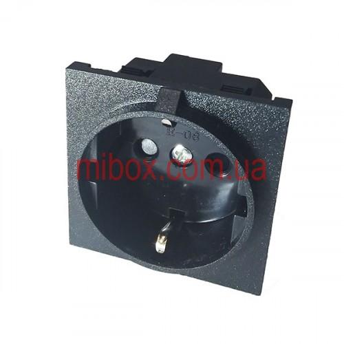 Разъем питания PC-8-002, черный