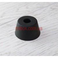 ножка резиновая, №10 (ф30/ф40, h22 мм), черная