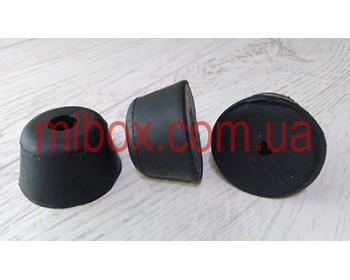 ножка резиновая, №11 (ф33/ф50, h30 мм), черная