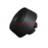 ножка пластмассовая, №12 с защелкой (ф18/ф20, h8 мм), черная