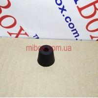 ножка резиновая, №14 (ф15/ф20, h16 мм), черная