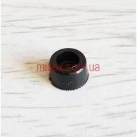 ножка резиновая, №1 (ф9 / ф10, h6 мм), черная
