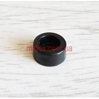 ножка резиновая, №2 (ф12/ф13, h6 мм), черная