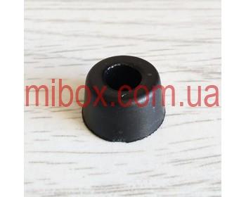 ножка резиновая, №3 (ф15/ф18, h10 мм), черная