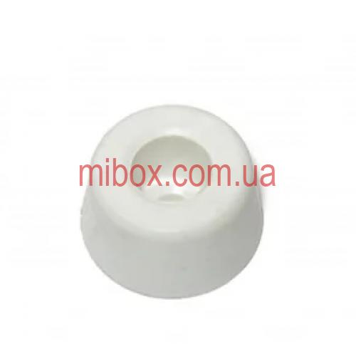 ножка резиновая, №3 (ф15/ф18, h10 мм), белая