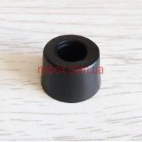 Ножка резиновая, №4 (ф18/ф20, h13 мм), черная