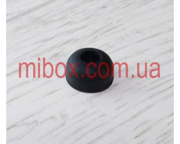 ножка резиновая, №5 (ф19, h10 мм), черная