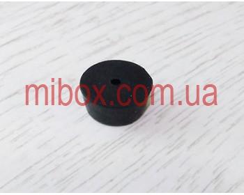ножка резиновая, №6 (ф18/ф22, h10 мм), черная