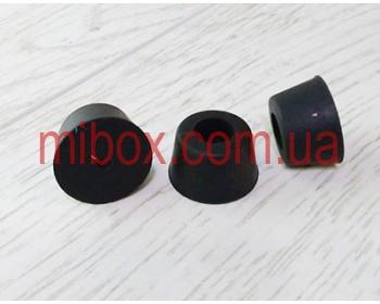 ножка резиновая, №7 (ф20/ф25, h15 мм), черная