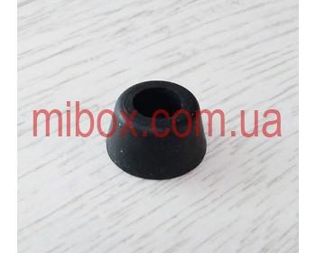 Ножка резиновая, №8 (ф20/ф26, h13 мм), черная