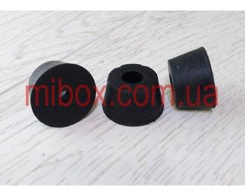 ножка резиновая, №9 (ф25/ф32, h18 мм), черная