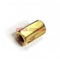 Стойка металлическая гайка/гайка М2,5х8