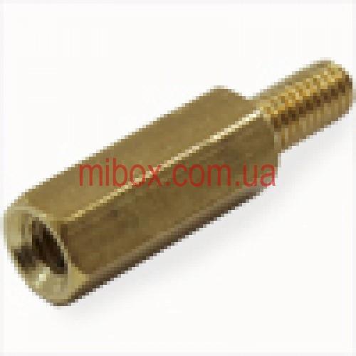 Стойка металлическая гайка/винт М3х15+6