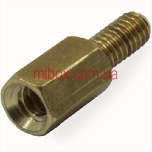 Стойка металлическая гайка/винт М3х8+6