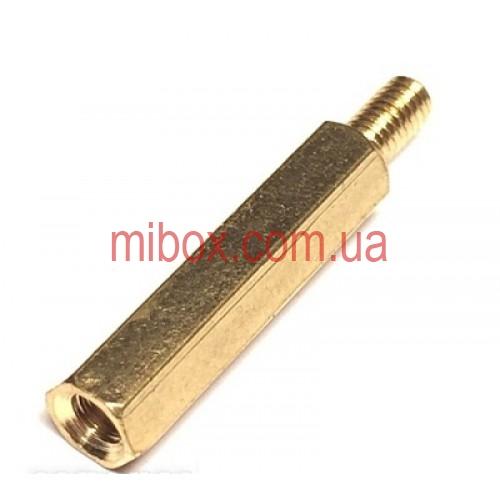 Стойка металлическая гайка/винт М3х20+6