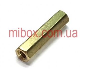 Стойка металлическая гайка/гайка М2,5х20