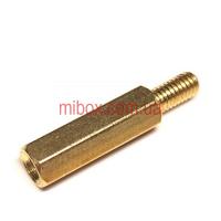 Стойка металлическая гайка/винт М4х12+6