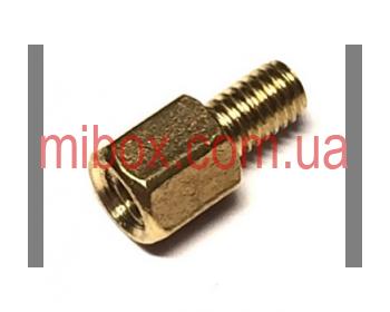 Стойка металлическая гайка/винт М4х5+6