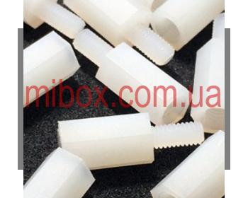 Стойка пластиковая гайка/винт М3х10+6