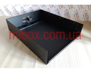 Корпус для блока аккумуляторных батарей, MB-3542RCSP(B)-W430H132L542, RAL9005(Black textured)