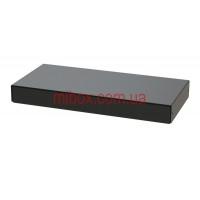 Корпус металлический MB-34 (Ш275 Г130 В32) черный, RAL9005(Black textured)