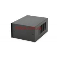 Корпус металлический, модель MB-1ECU-W100H60L125, RAL9005(Black textured)