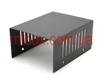Корпус металлический MB-1 (Ш100 Г125 В60) черный, RAL9005(Black textured)