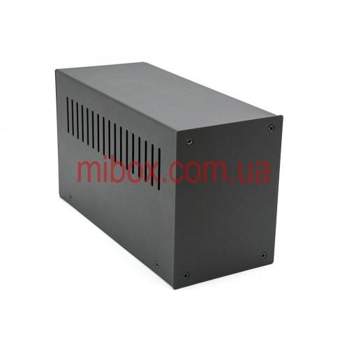 Корпус металлический MB-10 черный, RAL9005(Black textured)