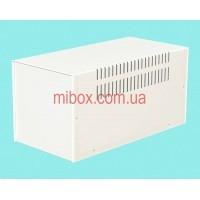 Корпус металлический MB-12 (Ш160 Г325 В160) белый, RAL9016(White textured)
