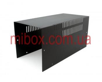 Корпус металлический MB-12 (Ш160 Г325 В160) черный, RAL9005(Black textured)