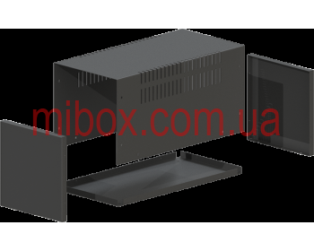 Корпус металлический, модель MB-12ECU-W160H160L325, RAL9005(Black textured)