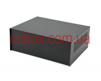 Корпус металлический MB-13 (Ш205 Г160 В75) черный, RAL9005(Black textured)