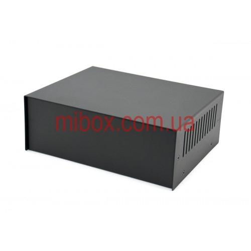 Корпус металлический, модель MB-13ECU-W205H75L160, RAL9005(Black textured)