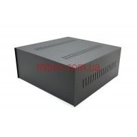 Корпус металлический, модель MB-14ECU-W325H140L330, RAL9005(Black textured)