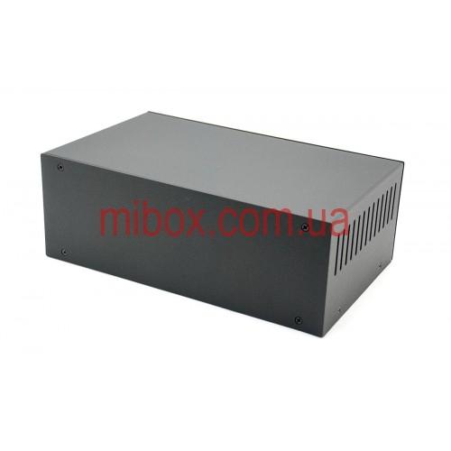 Корпус металлический MB-15 (Ш250 Г150 В90) черный, RAL9005(Black textured)