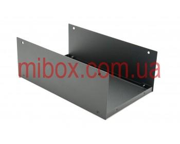 Корпус металлический, модель MB-15ECU-W250H90L150, RAL9005(Black textured)