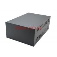 Корпус металлический, модель MB-16ECU-W220H120L325, RAL9005(Black textured)