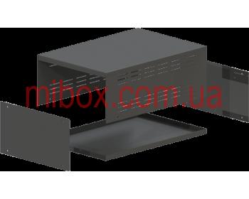 Корпус металлический MB-16 (Ш220 Г325 В120) черный, RAL9005(Black textured)