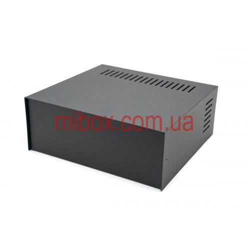 Корпус металлический, модель MB-17ECU-W235H92L217, RAL9005(Black textured)
